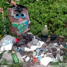 Balloons, Plastic Garbage and More Pollution cleaned up 8-1-15