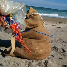 Balloons and Balloon Ribbons found on beach