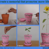 Create a memorial that promotes life