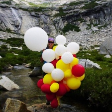 Latex balloons polluting Kings Canyon National Park, CA