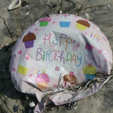 birthday balloon pollution