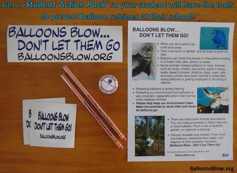 Balloons Blow Student Action Pack