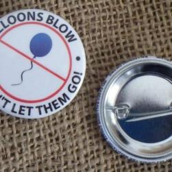Balloons Blow Round Pins