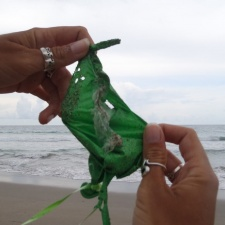 Latex Balloon found on beach