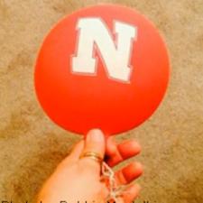 Nebraska Huskers - Balloon Debris