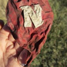 Nebraska Huskers Balloon Debris