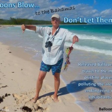 Balloons at Rolling Harbour Abaco