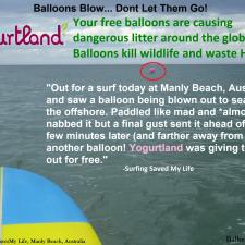 Yogurtland - Balloon Debris Australia