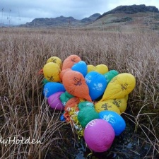 McDonald's balloon pollution