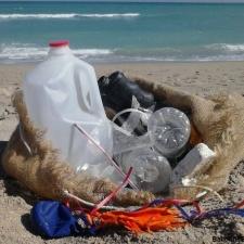Beach Debris and Balloons