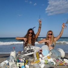 balloons & balloon ribbons, styrofoam and plastic pollution.