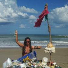 Styrofoam, balloons, marine debris, plastic