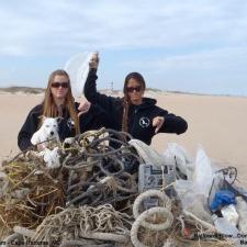 Cape Hatteras NC Beach Cleanup 3-23-13