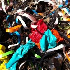 46 balloons littering Block Island