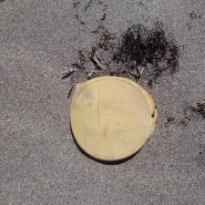 Mahler - Gautemalan food product debris on beach