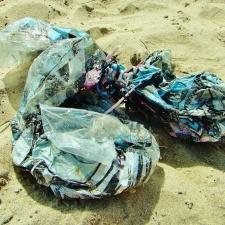 Mylar balloon litter