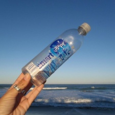 "Smart Water bottle - plastic bottled water isn't very ""smart"""