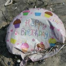 birthday balloon pollution